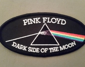 pink floyd dark side of the moon embroidered patch