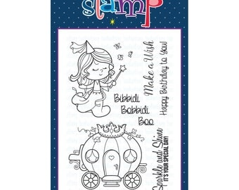 Your Next Stamp  Little Darling Fairy Godmother
