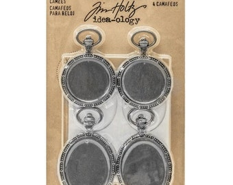 ON SALE Tim Holtz Idea-Ology Watch Cameos