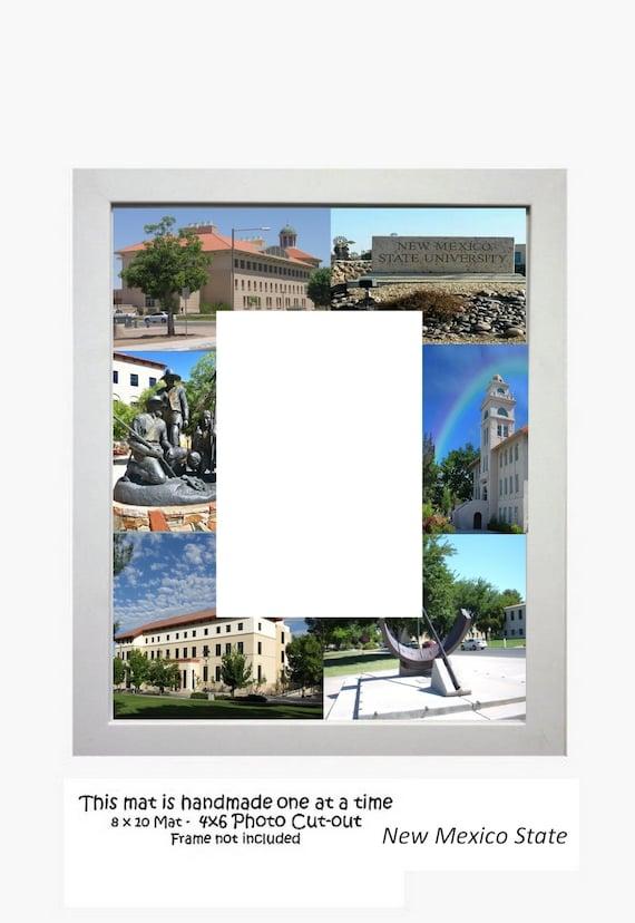 Custom college paper mats