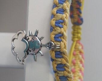 Sunshine and Cloud Bracelet