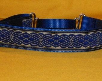Blue celtic collar