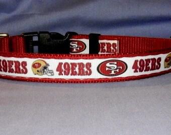 San Francisco 49ers collar