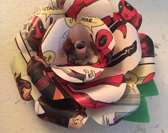 Deadpool Comic Book Boutonniere