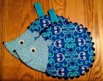 Hedgehog Hot Pads (2) Handmade By Me... So Cute.