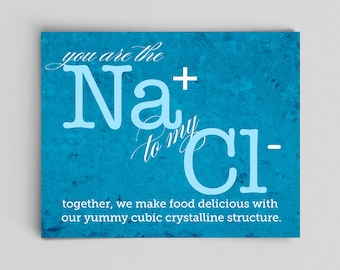 Chemistry Poster Nerdy Love Gifts for Her Gifts for Him Couple Gifts Science Poster Nerdy Valentine Home Decor Gifts Nerd Anniversary Gifts