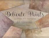 Delicate Paints Fine Art Textures, Photoshop Textures