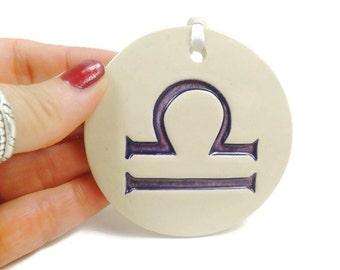 Libra Zodiac Ornament, Astrology Ornament, Libra Sign, Zodiac Gift, Horoscope Signs, Libra Birthday, Astrological Sign, Horoscope Gift
