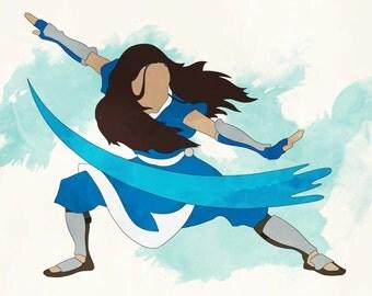 Avatar: The Last Airbender –Katara, Waterbender, Water Tribe
