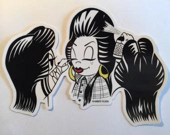 Large Homegirls Sticker