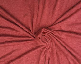 47f1f4c67f1 Dusty Pink Deep Light-weight 160 GSM Rayon Spandex Jersey Knit ...