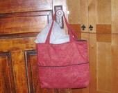 Tote Bag Weekender Purse Winterberry Orange