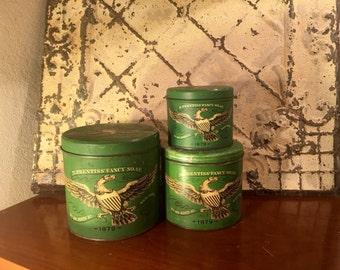 Vintage Soap Canister, Canister, Vintage Soap Tin, Vintage Tin, Storage Tin