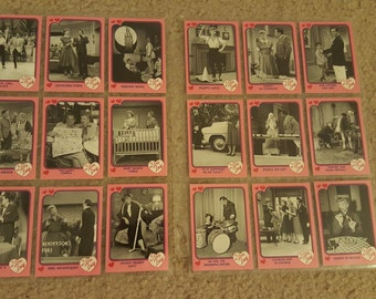 1991 I Love Lucy Collector Cards - 18 cards in sleeve