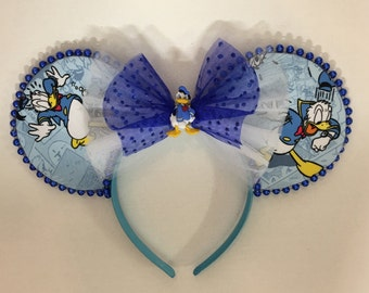 Donald Duck inspired Mouse Ears