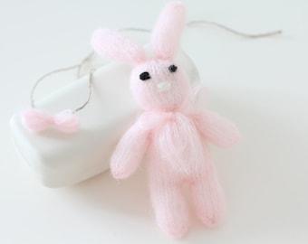 Newborn props - Baby girl set - Photo prop set - Newborn rabbit - Newborn soft pink - Newborn girl - Photo prop girl - Newborn girl set