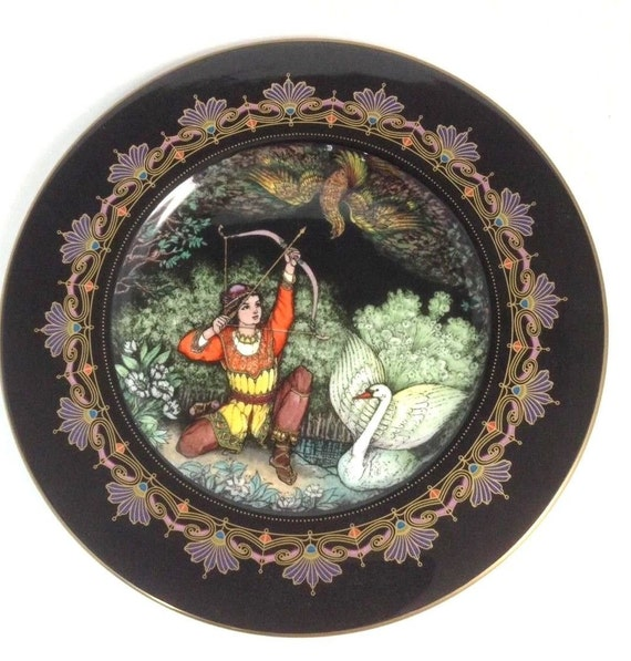 Villeroy and Boch Plate, Magical Fairy Tales, Tsar Saltan, Heinrich Porcelain, Vintage Limited Edition Collector Plate