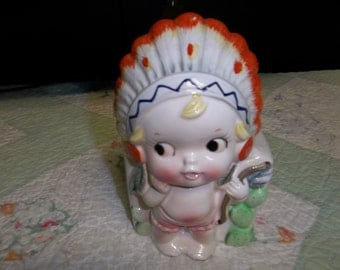 Vintage Indian Baby Hanging Planter, Parma by AAI Japan, T