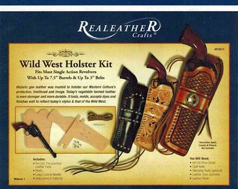 Wild West Leather Holster Kit Leathercraft