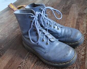 Dr Martens Vintage Blue Bell Leather Pastel Punk Doc Martens Boots  EU  36 / US 5 UK 3 for Women