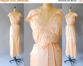 30%OFF 1930s Silk Nightgown / Rolinée Nightgown / 30s