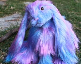 Custom posable plush art doll-soft sculpture *deposit*