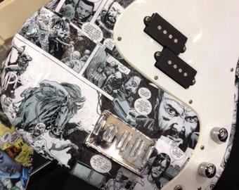 The Walking Dead Bass guitar