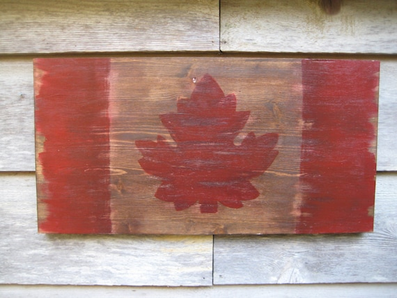 Items Similar To Reclaimed Wood Flag Wood Wall Art