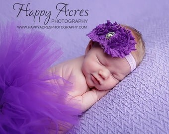 Any Color Custom Infant size Tutu with matching headband