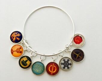 Diana Gabaldon inspired charm bracelet