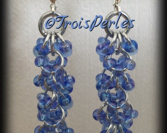 03 Chain Maille earrings - Chainmaille earrings