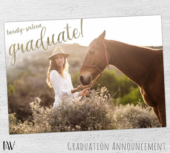 free senior templates for photoshop - graduation announcement template senior photography