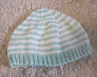 Hand Knit Baby Hat