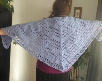 crochet shawl, wrapped in warmth design, prayer shawl, spring wrap, handmade shawl