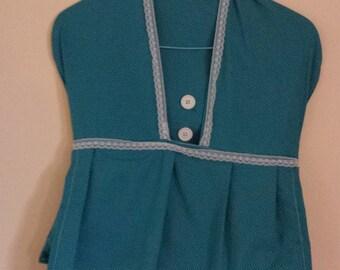 Vintage Clothes Pin Bag - Dress Shape