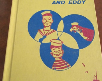Vintage 1961 Book - Sailor Jack and Eddy - School Library Book - Estate find