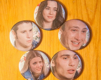 Freaks and Geeks, *Freaks* - PIN BACK BUTTON Set