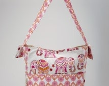 Brownie Gifts 2016 Spring Line! Majestic Elephants Diaper bag,change pad & dirty duds wet bag