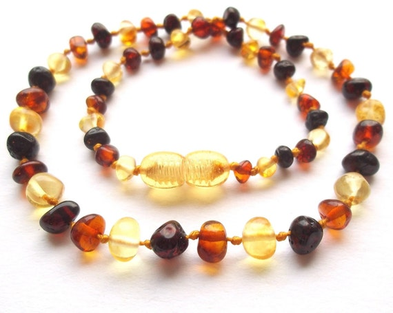 best offer baltic teething necklace by amberbabiesshop