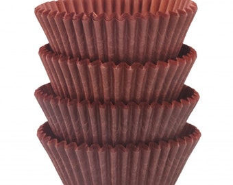 Brown Baking Cups - Standard Size