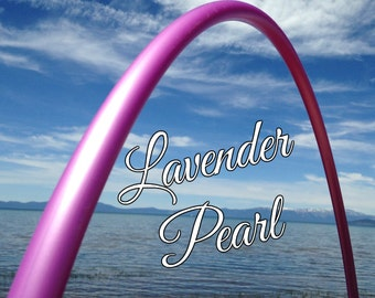 "Lavender Pearl Colored 3/4"" or 5/8"" PolyPro Hula Hoop - You pick the size - by Colorado Hula Hoops"