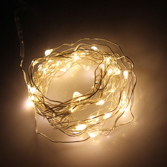 Warm White Fairy Lights LED String Light AA Battery Operated