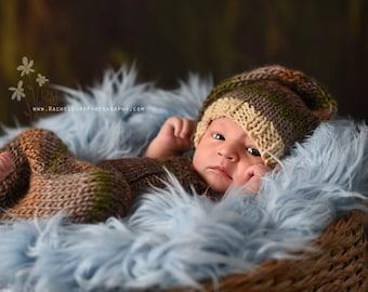 "Newborn Photo Prop, Mongolian Faux Fur  BabyBlue 18""x30"" Faux FurFabric Newborn Photography Backdrop BasketStuffer Posing Fabric READYtoSHIP"