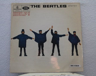 "The Beatles - ""Help"" vinyl record, UK Import"