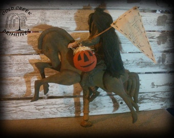 Primitive Headless Horseman Sleepy Hollow