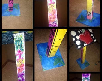 Custom made teacher podiums