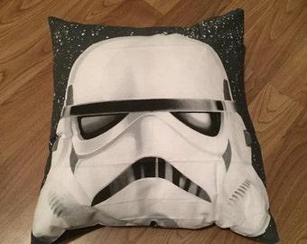 Hand made Storm Trooper cushion