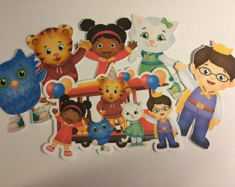 Daniel Tiger Die Cuts qty 6