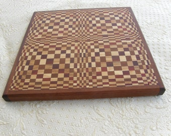 Handcrafted Butterfly pattern cutting board - 16-1-150-A
