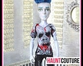 Monster Doll Boys Collection: Walking Dead Zombie T-shirt high fashion tee